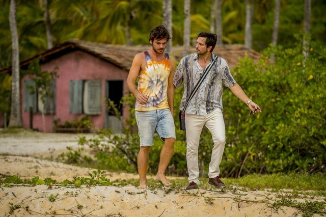 segundo sol, Beto ( Emilio Dantas ) e Remy ( Vladimir Brichta )