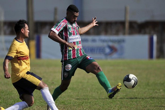 JOINVILLE, SC, BRASIL (28-08-2016) - Fluminense de Joinville vs Itajaí pela terceira divisão do Campeonato Catarinense no Estadio do Fluminense em Joinville. (Foto: Maykon Lammerhirt, Agencia RBS)