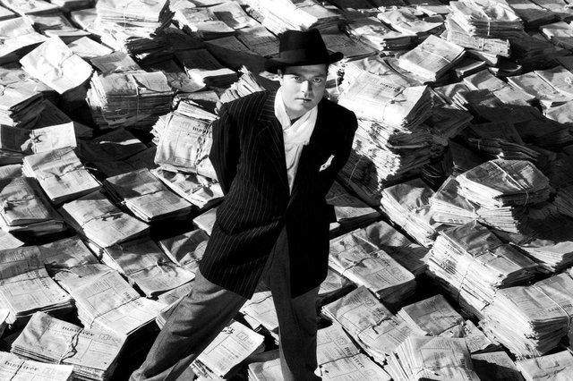 cena do filme Cidadão Kane (Citizen Kane), de Orson Welles