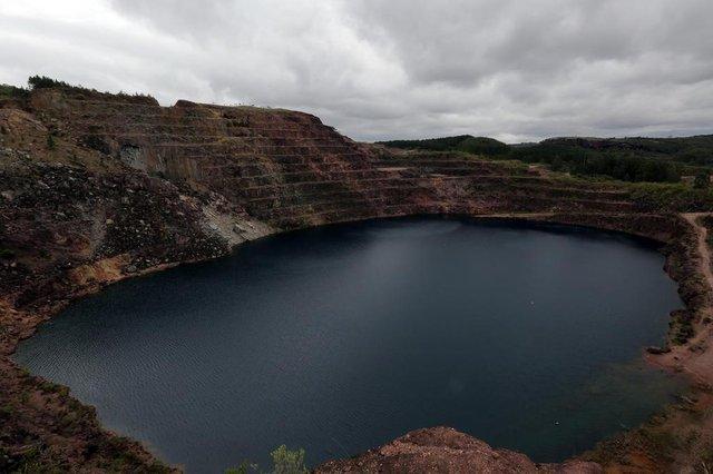 CAÇAPAVADOSUL-RS-BR-DATA;20150914Minas do Camaquã, localizada no município de Caçapava do Sul, local de  inumeros registros da mineração.  O  empresário Francesco Matarazzo Pignatari, ficou conhecido como Baby Pignatari, investiu nas décadas de 60/70.Algumas minas, atualmente são exploradas pelo turismo.FOTÓGRAFO:TADEUVILANI DATA:20150921