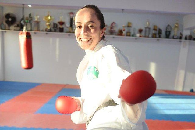Blumenau - SC - Brasil - 28062016 - Beatriz Mafra lutadora de Karatê que desputou o Sulamericano na Colômbia.