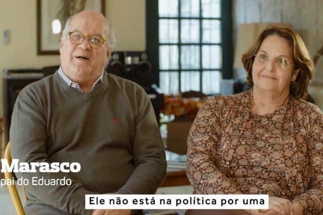 Marasco e Rosa Eliana , pais de Eduardo Leite , candidato ao governo do Estado , eleições 2018 , tá no ar