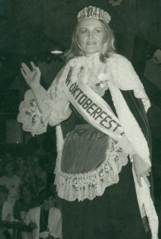 Stefania Wacholz, oktoberfest, rainha, 1987