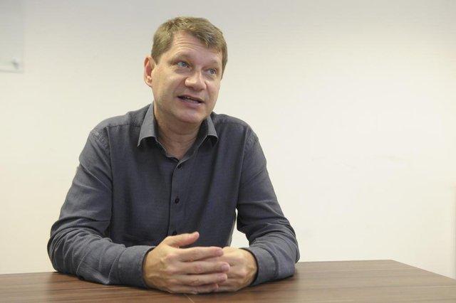 Blumenau - SC - Brasil - 03092018 - Candidato a reitor a Furb Everaldo Artur Grahl