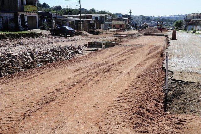 PORTO ALEGRE, RS, BRASIL, 06/09/2018 - Seguimento da Avenida Tronco ainda em obras. (FOTOGRAFO: RONALDO BERNARDI / AGENCIA RBS)