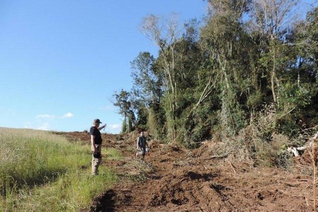 Operação resulta em quase R$ 1 milhão por desmatamento ilegal no RS