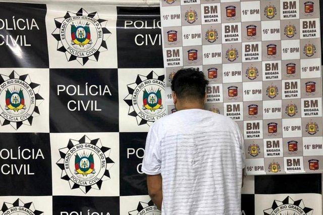 Suspeito da morte de  cunhada Elaine Silva da Silva, Evandro Ferreira, 42 anos