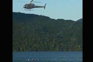 Helicóptero da Polícia Militar foi usado no dia do desaparecimento de Matheus (Reprodução/Reprodução)
