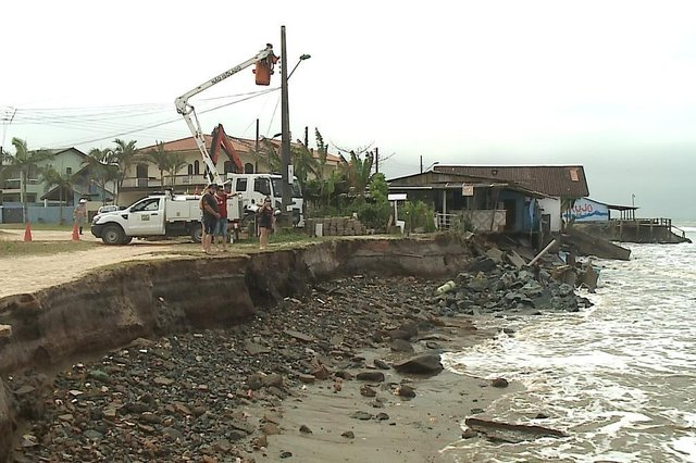 Prefeitura de Itapoá deve decretar situação de emergência nesta segunda-feira