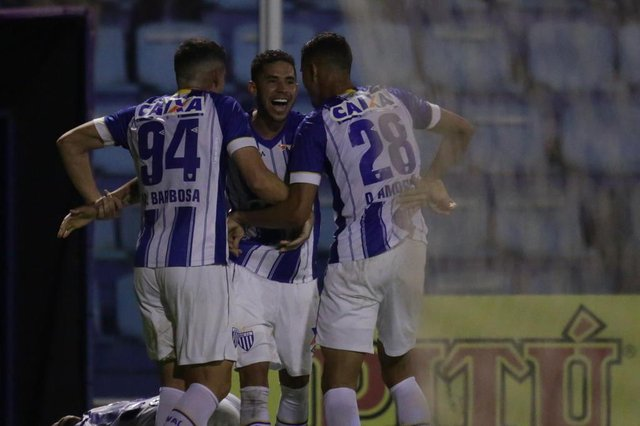 FLORIANÓPOLIS, SC, BRASIL - 22/09/2018Partida de futebol entre o Avaí e Sampaio Corrêa pela Segunda Divisão do Campeonato Brasileiro 2018