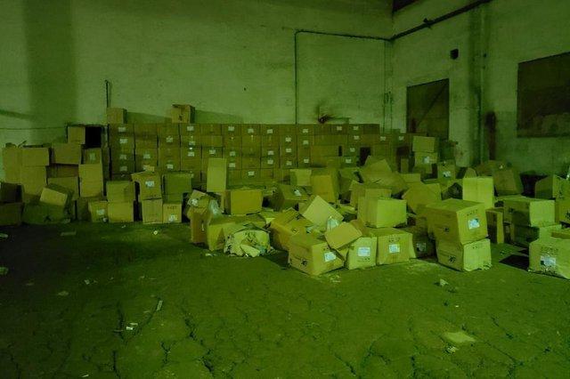 Polícia localiza carreta com produtos roubados em Joinville