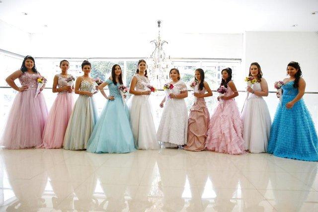 PORTO ALEGRE, RS, BRASIL 30/09/2018 - Festa de debutantes de 10 meninas do Instituto do Câncer Infantil. (FOTO: ROBINSON ESTRÁSULAS/AGÊNCIA RBS)