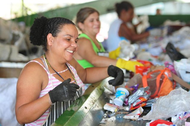 JOINVILLE,SC,BRASIL,02-10-2018.Join.Cubo,Marcia Aparecida dos Santos,trabalha na assecrejo.(Foto:Salmo Duarte/A Notícia)