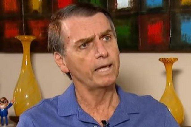 Entrevista do candidato à Presidência Jair Bolsonaro (PSL) à Record