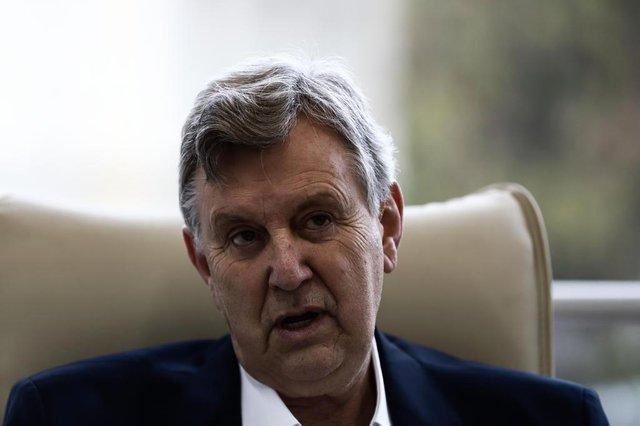 PORTO ALEGRE, RS, BRASIL, 15/08/2018: Entrevista com Luis Carlos Heinze, candidato do PP ao Senado. (CARLOS MACEDO/ AGÊNCIA RBS)Indexador: Carlos Macedo