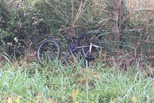 Ciclista é atropelado no Morro dos Cavalos