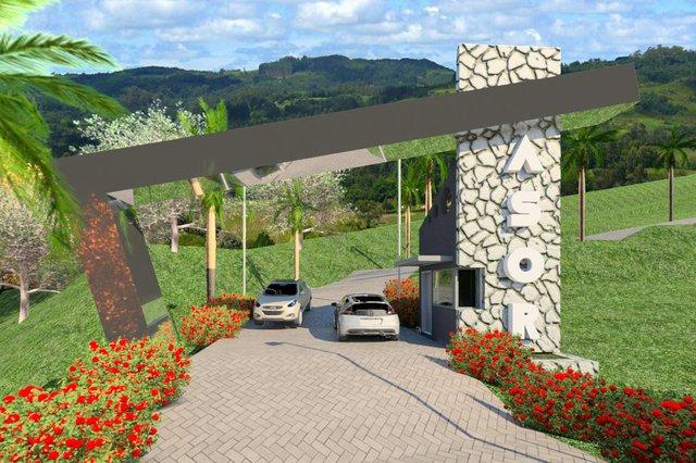 Centro de Eventos Asor, pórtico, Caxias ganha Centro de Eventos