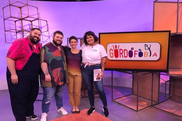 Sandra Annenberg recebe ativistas do movimento Body Positive para falar sobre gordofobia , como será