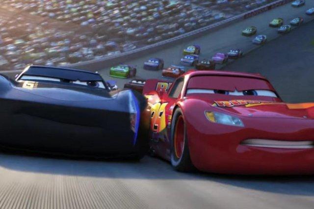 Imagem de divulgação do filme Carros 3