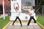Menina precisou superar morte do pai dez dias antes da seletiva para Escola Bolshoi, em Joinville (A Notícia/Salmo Duarte)