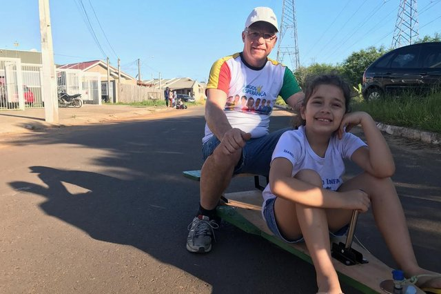 Dia da Criança Retrô no bairro Jardim do Bosque em Cachoeirinha