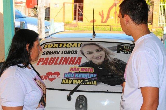 Familiares de Paula, morta pelo companheiro na cidade de São GabrielIndexador: WVL