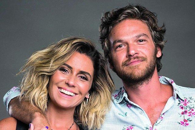 O ator Emilio Dantas é o protagoniosta Beto Falcão em Segundo Sol. Na foto com Giovanna Antonelli, a Luzia, seu para na novela.