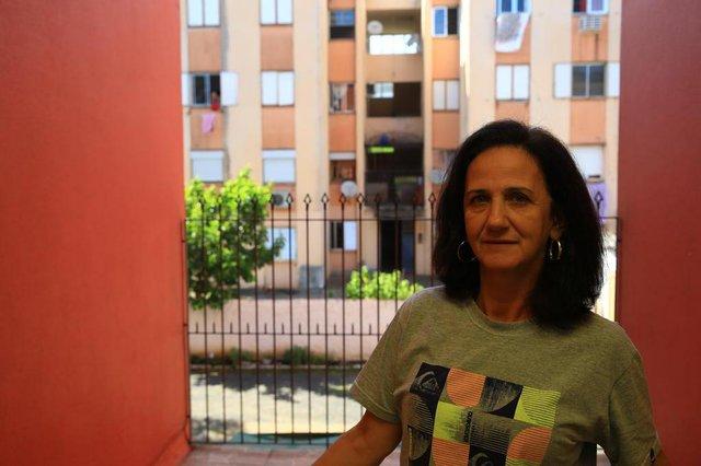 CANOAS, RS, BRASIL, 06/11/2018 - Ambiental do hospital Nossa Senhora das Graças que esta em crise. Na foto - Rosemary Varela, paciente do hospital. (FOTOGRAFO: TADEU VILANI / AGENCIA RBS)