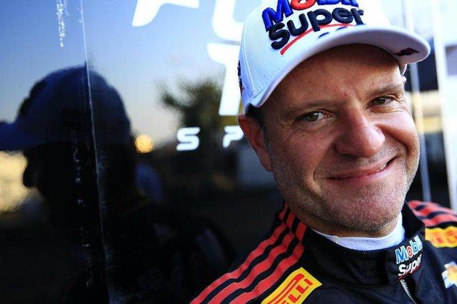 CAMPO GRANDE, MS, BRASIL, 17-08-2018: O piloto Rubens Barrichello durante treino livre da Stock Car no Autódromo Internacional Orlando Moura. (Foto: Mateus Bruxel / Agência RBS)