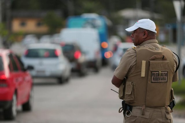FLORIANÓPOLIS, SC, BRASIL, 12/11/2018: Inicio do bloqueio no trânsito devido às obras no elevado do Rio Tavares . Na foto:   (Foto: CRISTIANO ESTRELA / DIÁRIO CATARINENSE)