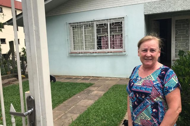 Neusa Lorenzi Gatelli, 69 anos, mora próximo da UCS e sentiu os tremores.