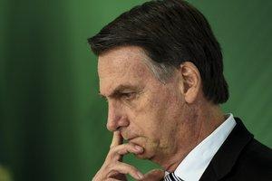 Sobre a escolha de Castello Branco para presidir a Petrobras, Bolsonaro afirmou que é uma indicação do Paulo Guedes (AFP/EVARISTO SA / AFP)