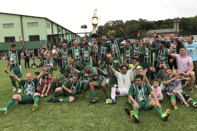 O São Francisco foi o campeoão da Copa União de Clubes na categoria master