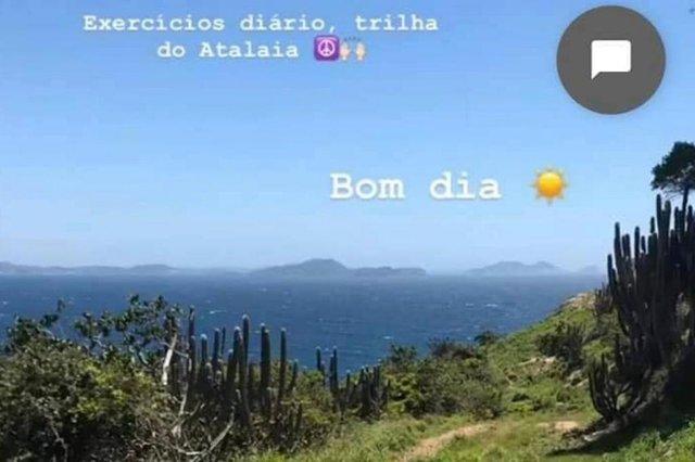 Moradora de Florianópolis desaparece durante trilha em Arraial do CaboFabiane Fernandes, de 32 anos, saiu sozinha para a caminhada