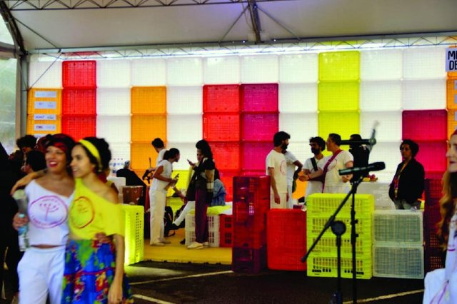 Cenário do Festival Brasileiro de Música de Rua é premiado