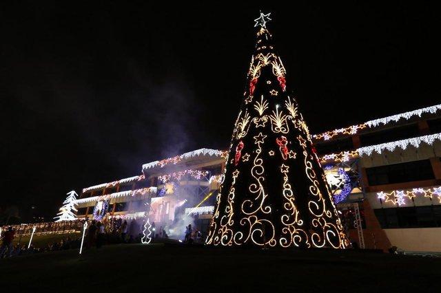 Natal na prefeitura de Joinville.Indexador: Jaksson Zanco
