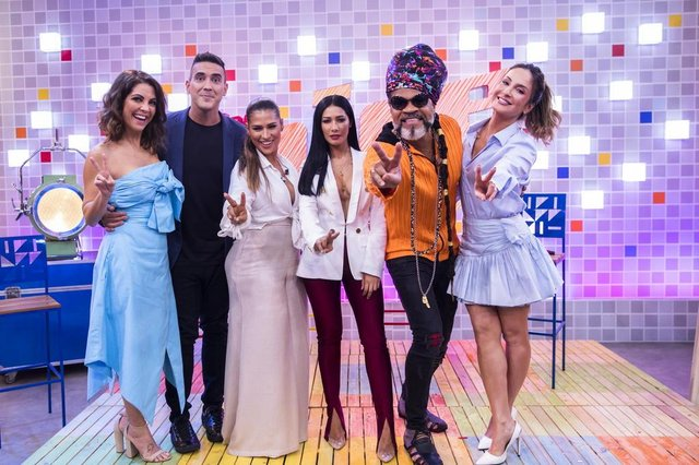 the voice kids, Carlinhos Brown, Claudia Leitte, Simone & Simaria,Thalita Rebouças e André Marques