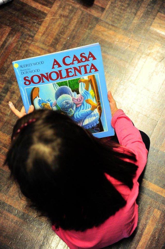 CAXIAS DO SUL, RS, BRASIL, 29/11/2018. Gabriela de Araújo Solio, 41 anos, é voluntária em contação de histórias para crianças e adolescentes de casas lares e abrigos de Caxias do Sul. (Porthus Junior/Agência RBS)