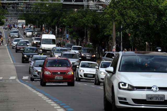 CAXIAS DO SUL, RS, BRASIL 07/01/2019Caxias volta a rotina após o feriadão de final de ano. (Felipe Nyland/Agência RBS)