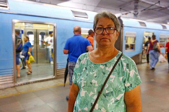 PORTO ALEGRE, RS, BRASIL 10/01/2019 - Número de passageiros do trensurb vem diminuindo nos últimos anos.(FOTO: ROBINSON ESTRÁSULAS/AGÊNCIA RBS)