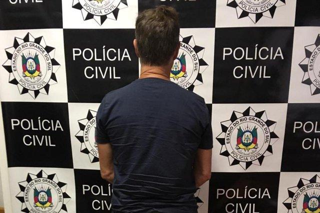 Preso em Capão da Canoa homem suspeito de matar gerente de banco de Anta Gorda Jacir Potrich