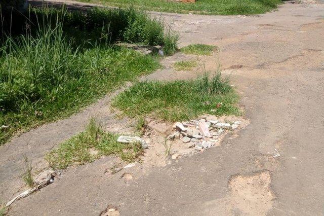 Seu Problema é Nosso, spn, Rua Eduardo da Silva Peixoto, buracos, Alvorada, Jardim Algarve
