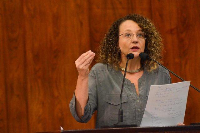Deputada estadual Luciana Genro (PSOL)