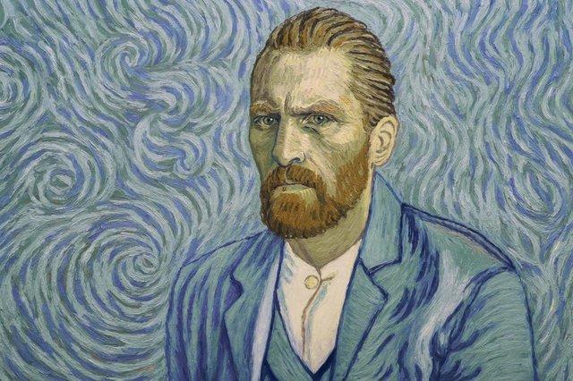 Robert Gulaczyk como Vincent Van Gogh na animação Com Amor, Van Gogh