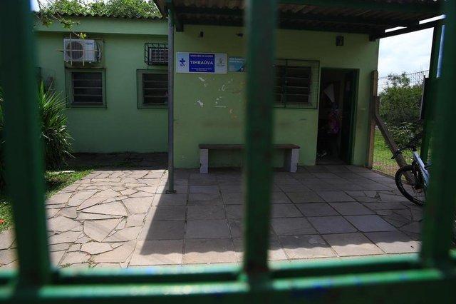 PORTOALEGRE -RS BR - 01.11.2018Postos de Saúde da Timbaúva,  alvo de violência.FOTÓGRAFO: TADEU VILANI AGÊNCIA RBS
