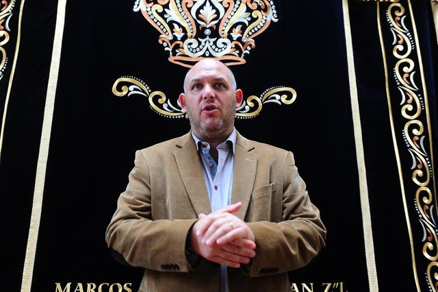 PORTO ALEGRE, RS, BRASIL, 18/04/2019-Rabino Ari Oliszewski,  líder da Sinagoga União Israelita Porto Alegrense,  falando sobre a páscoa judaica. (FOTOGRAFO: RONALDO BERNARDI / AGENCIA RBS)