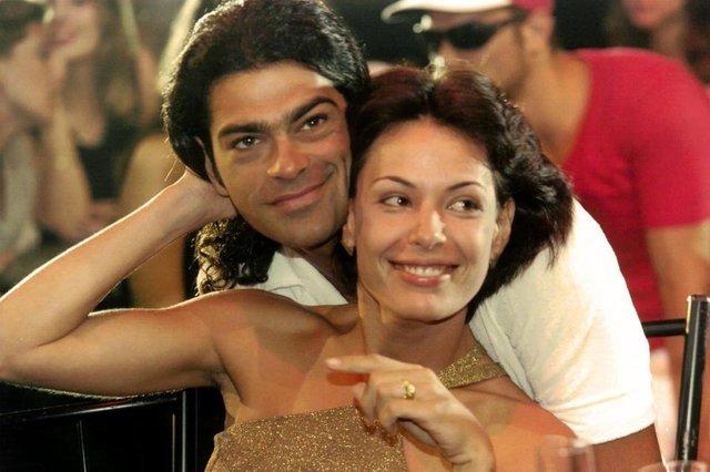 Eduardo Moscovis e Carolina Ferraz na novela Por Amor. Fonte: Divulgação Fotógrafo: Nelson Di Rago