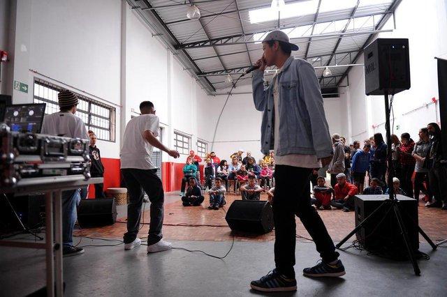 CAXIAS DO SUL, RS, BRASIL (28/04/2019)Festival Música de Rua no Centro Cultura Beltrão de Queiróz. (Antonio Valiente/Agência RBS)