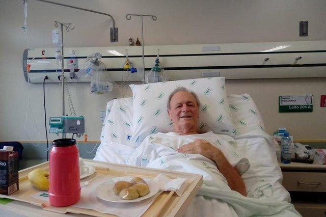 Alimentos levam conforto aos pacientes do hopsital da Unimed
