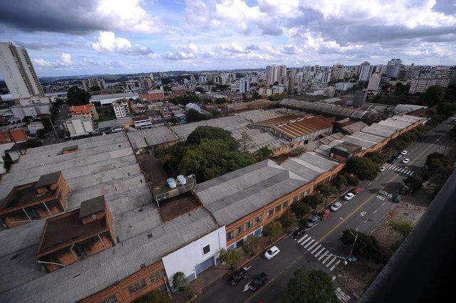 CAXIAS DO SUL, RS, BRASIL, 24/04/2019 - Fotos internas e externas do prédio da antiga Maesa. (Marcelo Casagrande/Agência RBS)